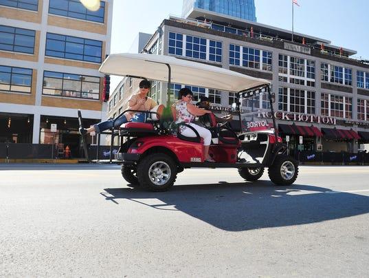 Recent Ordinance Regulates Golf Cart Cabs In Nashville