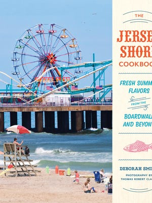 """""""The Jersey Shore Cookbook: Fresh Flavors From The Boardwalk and Beyond"""" was written by Deborah Smith of Jerseybites.com"""