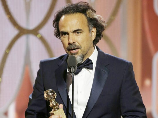 Alejandro González Iñárritu accepts best director for
