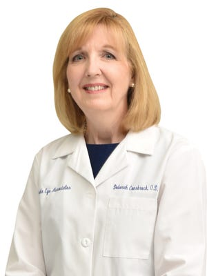 Dr. Deborah Consbruck is an optometrist for Florida Eye Associates, which has offices in Melbourne, Viera and Cocoa Beach