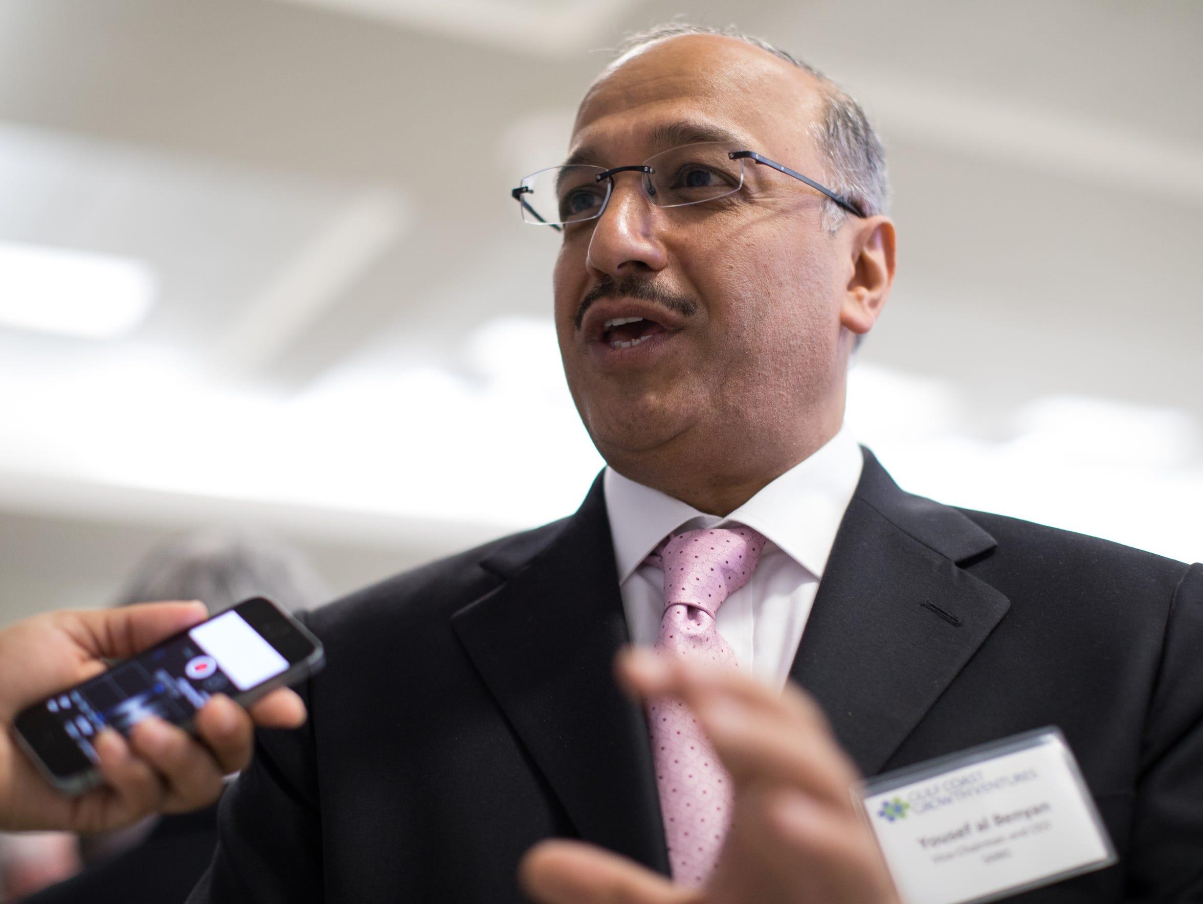 Vice Chairman and CEO of SABIC, Yousef Abdullah Al-Benyan