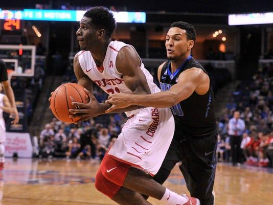NCAA Basketball: Houston at Memphis