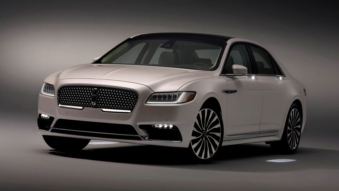 2017 lincoln continental provides quiet luxury. Black Bedroom Furniture Sets. Home Design Ideas