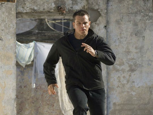 "Matt Damon is back for the fourth time as ""Jason Bourne."""