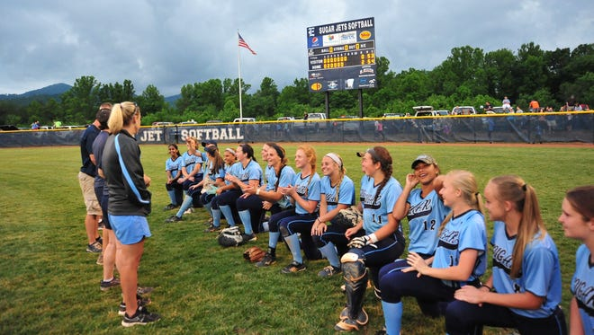 Enka won Game 1 of the 3-A Western Regional championship series on Tuesday night in Candler, 2-0.