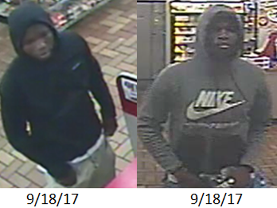 Police believe the same man is responsible for at least four recent armed robberies in the Lansing area.