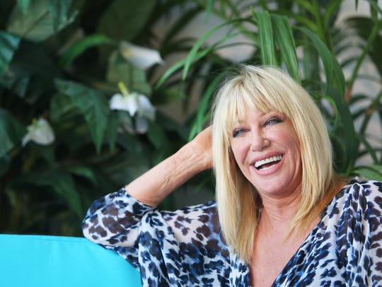 """Suzanne Somers talks about her time on """"Dancing with"""