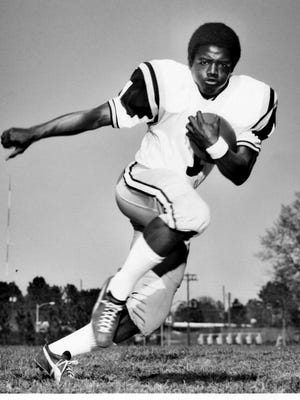 USM's Willie Heidelberg became the first African-American football player at the Division 1 level in Mississippi.