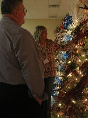 The annual Christmas Tree Auction is celebrating its
