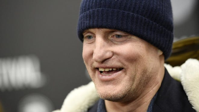 """FILE - In this Jan. 22, 2017, file photo, Woody Harrelson, a cast member in """"Wilson,"""" is interviewed at the premiere of the film at the Eccles Theatre during the 2017 Sundance Film Festival in Park City, Utah. Harrelson told Vulture in an interview published online on March 20, 2017, that he has given up smoking marijuana."""
