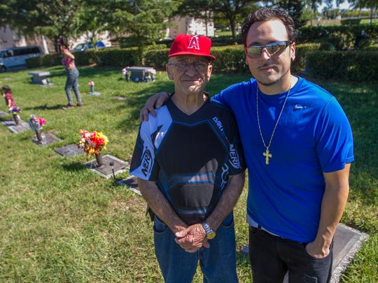 Alfredo and his son Michael Sosa were shocked to learn recently that some of the remains of Alexis Sosa were kept by the Lee County Medical Examiners Office. Alexis Sosa and his nephew Jeffrey were killed in 2006 in Cape Coral by members of the Cash Feenz.