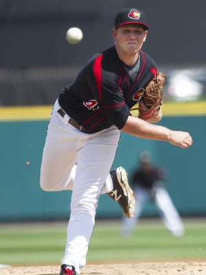 Tyler Duffey outdueled Aaron Nola, the top pitching prospect for the Philadelphia Phillies, on Saturday.