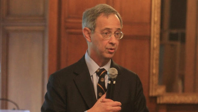 A file photo of Joel Seligman, president of the University of Rochester.