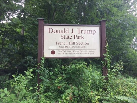 Donald Trump State Park straddles Westchester and Putnam