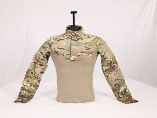 The Army's new Ballistic Combat Shirt was designed