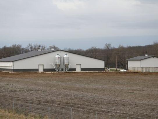Wiechman cutline  Wiechman Pig Company's new facility