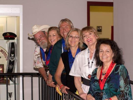 Back to front: John Shoop, Judy Justus-Shoop, Mark