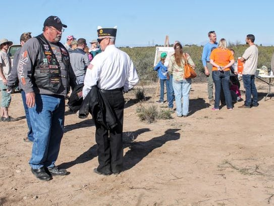 Veterans came out to support Foxhole Home's launch