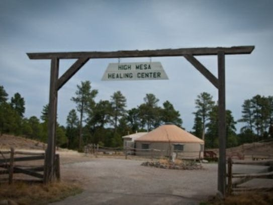 High Mesa Healing Center yurt and grounds are available
