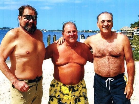 These three friends - Jeff Smith of Beaufort, S.C.