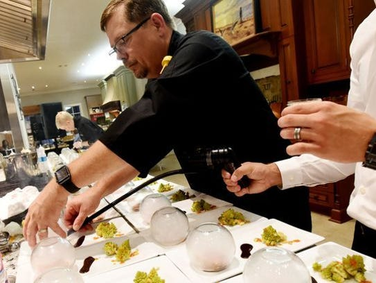 Chef John Strand will compete in this year's Battle