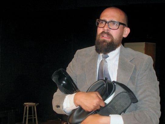 "Nash Rhaburn as the troubled Aaron in WWCA's ""The Beginner's"