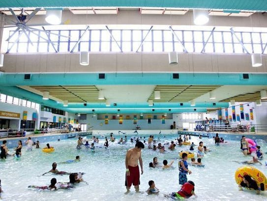Catch a wave at the Kiwanis Wave Pool, which is open