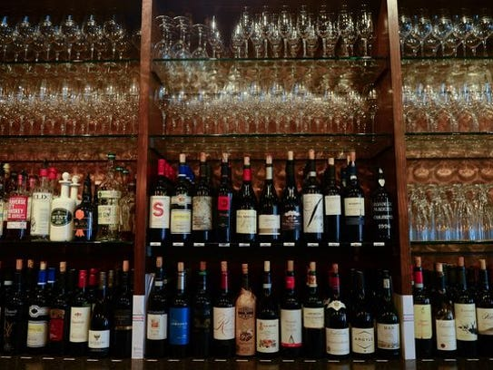 The Vineyard Wine Bar & Bistro located in Rehoboth