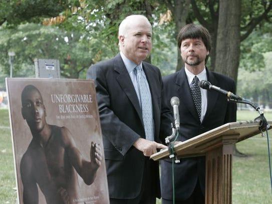 Sen. John McCain had fought to get a presidential pardon