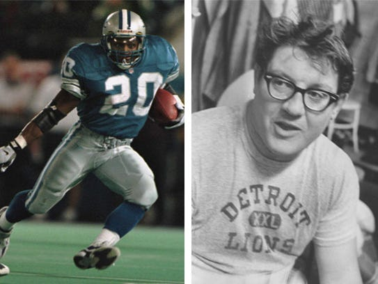 1 Barry Sanders vs. 8 Alex Karras