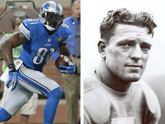 3 Calvin Johnson vs. 11 Doak Walker