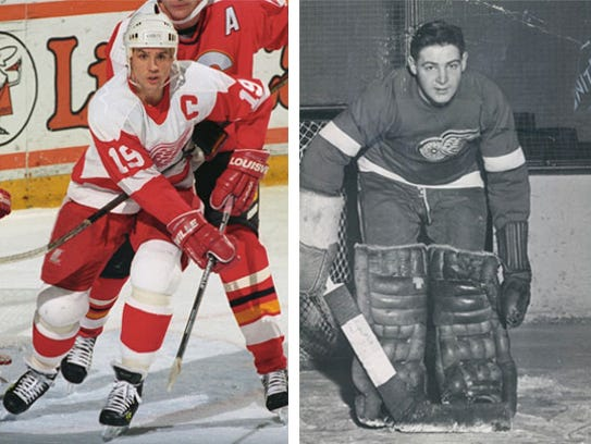 3 Steve Yzerman vs. 6 Terry Sawchuk