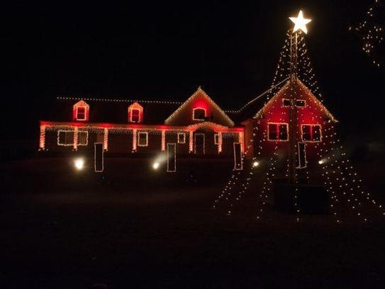 Wall Christmas Lights Nj : Wall light show raises USD 18G for charity; what s next?
