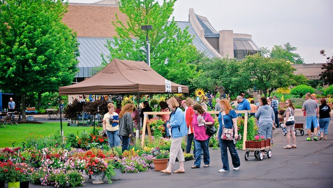 This year's Garden Fair at Minnetrista will be May 4.