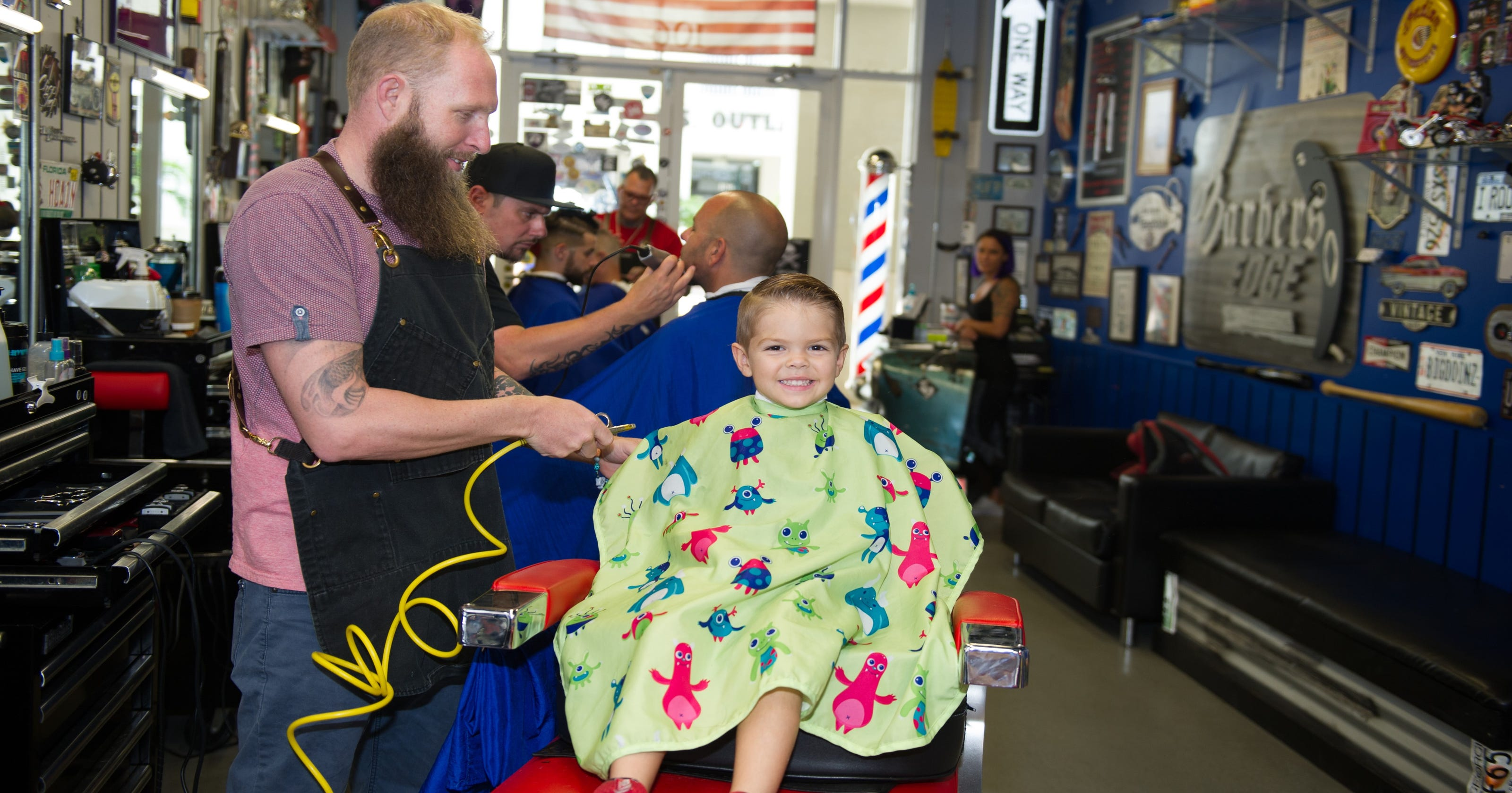 Barbers Edge Team Are Not Your Average Barbers