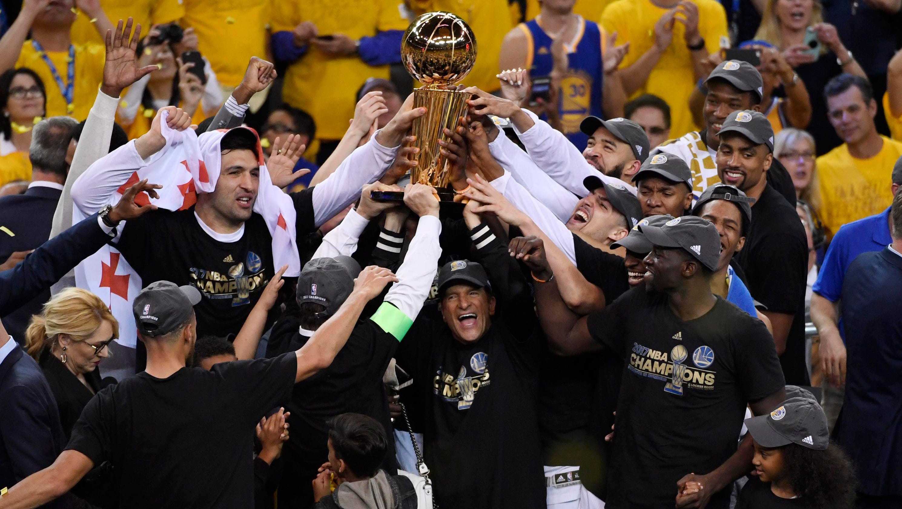 Steve Kerr jokes Warriors' NBA championship was 'all coaching'