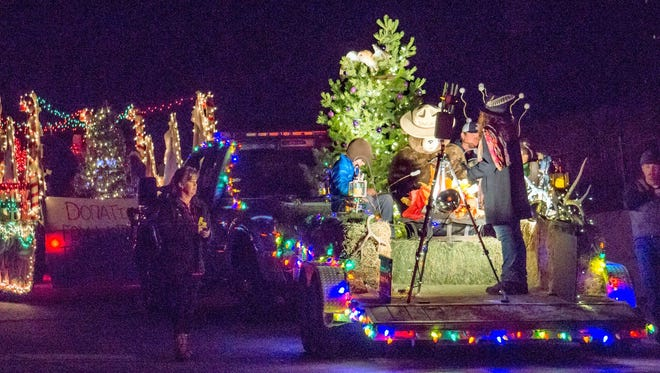 The 26th annual Lighted Christmas Parade was held in downtown Silver City over the weekend.
