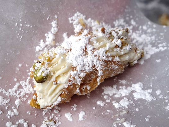 GOLD MEDAL: Cannoli from Leoni's Focaccia at the Devour