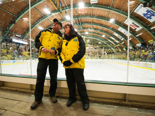 GMCS at Vermont Hockey Game 02/20/15