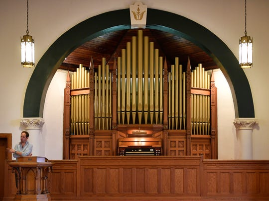 West Nashville United Methodist Church is being developed into an event space and that means its 1905 Kilgen and Son pipe organ needs to find a new home. Dan Cook, owner of the building, is willing to donate it, but moving it comes with a $15,000 price tag.  Friday April 28, 2017, in Nashville, TN
