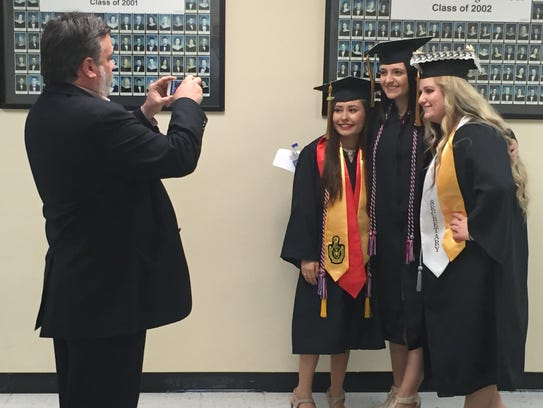 Diplomas were presented to 151 members of Stewart County