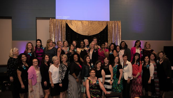 Women, mentors and volunteers gathered to start the beginning of a new era in women's lives.