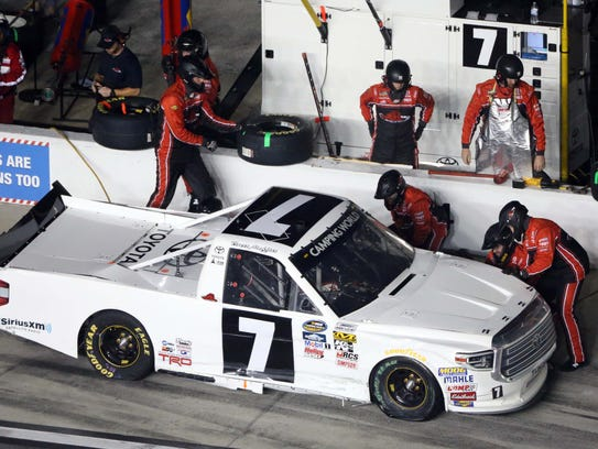NASCAR Camping World Truck Series driver Brett Moffitt