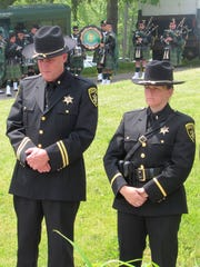 Representatives from the Chemung County Sheriff's Office