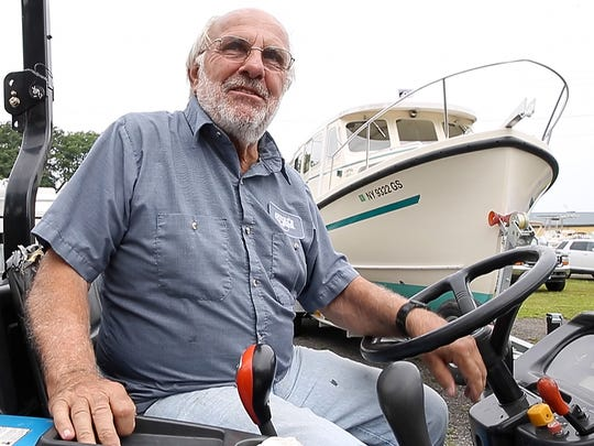 John Love, one of the owners of Arney's Marina, has seen a 40 percent reduction in gas sales at his business.