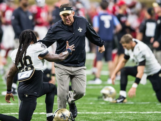 New Orleans Saints vs Atlanta Falcons                     September 26, 2016