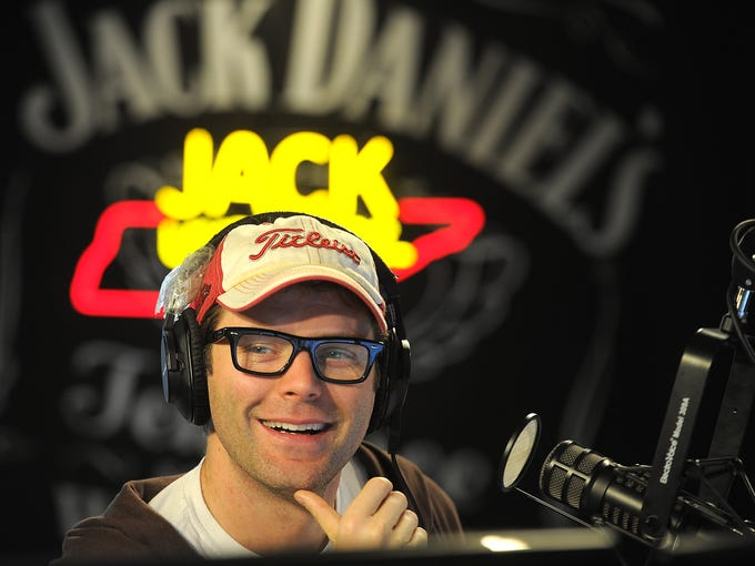Bobby Bones laughs with his pals on his early morning