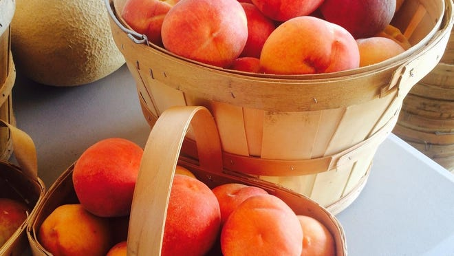West Tennessee peaches