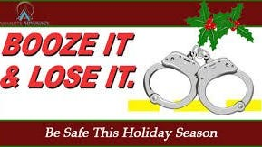The N.C. Governor's Highway Safety holiday campaign began Dec. 9. Law enforcement officers will be out on the roads searching for impaired drivers.