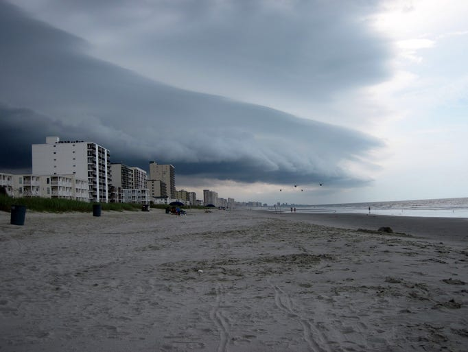 Knitting Up A Storm North Myrtle Beach : Thursday s forecast thunderstorms for much of u